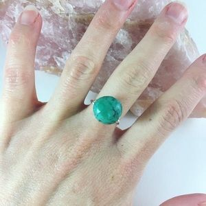 KATY GINGER DESIGNS Turquoise Ring